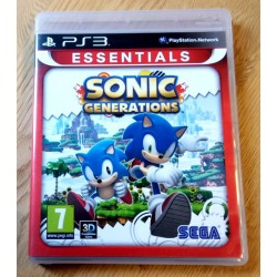 Playstation 3: Sonic Generations (SEGA)