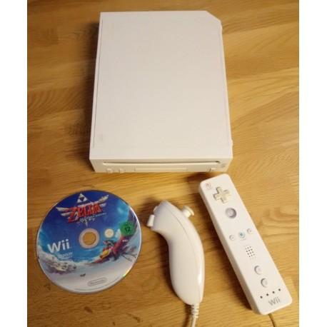 Nintendo Wii: Komplett konsoll med Zelda Skyward Sword