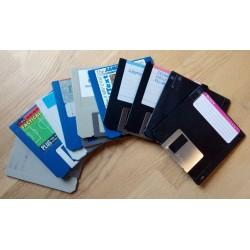 10 x disketter - Tilfeldig utvalg - Pakke 7 (Amiga)
