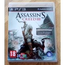 Playstation 3: Assassin's Creed III (Ubi Soft)