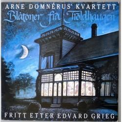 Arne Domnerius Kvartett- Blåtoner fra Troldhaugen (LP- Vinyl)