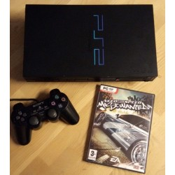Playstation 2: Komplett konsoll med Need for Speed Most Wanted