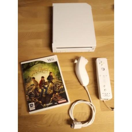 Nintendo Wii: Komplett konsoll med The Spiderwick Chronicles
