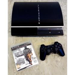 Playstation 3: Komplett konsoll med Battlefield Bad Company 2 - 80 GB