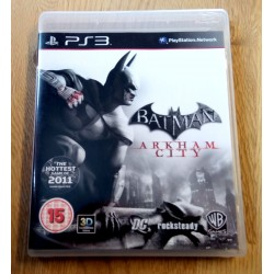 Playstation 3: Batman - Arkham City (WB Games)