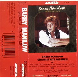 Barry Manilow- Greatest Hits Volume 2