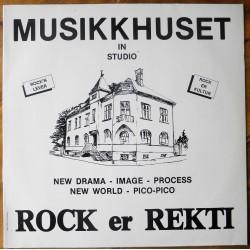 Rock er Rekti- Musikkhuset- Larvik (LP- Vinyl)