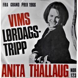 Anita Thallaug- VIMS- Grand Prix 1966 (Vinyl- Singel)