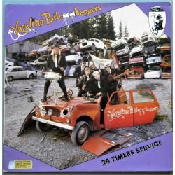 Vazelina Bilopphøggers- 24 timers service (LP- Vinyl)