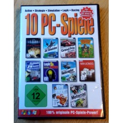 10 PC-Spiele - Für Windows XP, Vista & Windows 7