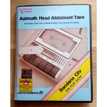 Azimuth Head Alignment Tape (Interceptor Software) - Commodore 64