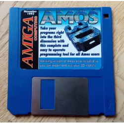 Amiga Computing: November 1993 - Cover Disk - AMOS 3D