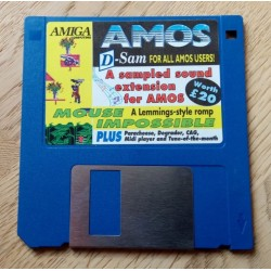 Amiga Computing: Cover Disk - AMOS D-Sam