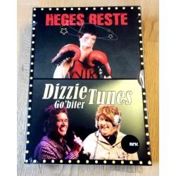 Heges beste og Dizzie Tunes Go'biter (DVD)