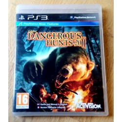 Playstation 3: Cabela's Dangerous Hunts 2011 (Activision)