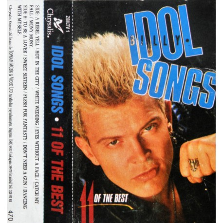 Billy Idol- Idol Songs- 11 of the Best