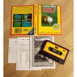 World Tour Golf (Electronic Arts) - Commodore 64 / 128