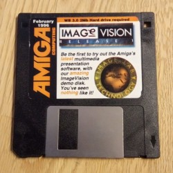 Amiga Computing: February 1996 - Cover Disk - Image Vision