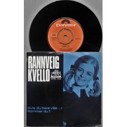 Rannveig Kvello- Hvis du bare ville..(Vinyl- Singel)