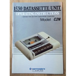 Commodore 1530 Datassette Unit - Operation Instructions - Model C2N