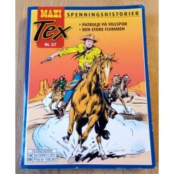 Maxi Tex - Nr. 57 - Patrulje på villspor