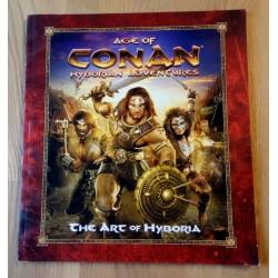 Age of Conan Hyborian Adventures - The Art of Hyboria