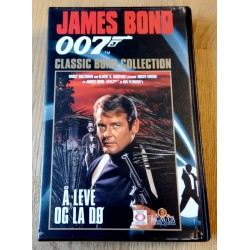 James Bond 007 - Å leve og la dø - VHS