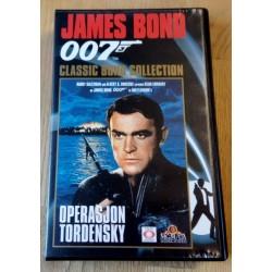 James Bond 007 - Operasjon Tordensky - VHS