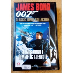 James Bond 007 - James Bond i hemmelig tjeneste - VHS