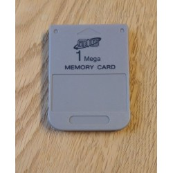 Sony Playstation 1 Memory Card - 1 MB