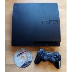 Playstation 3 Slim med 320 GB HD - Komplett konsoll med spill
