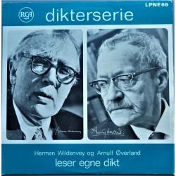 Herman Wildenvey og Arnuld Øverland leser egne dikt (Vinyl-LP)