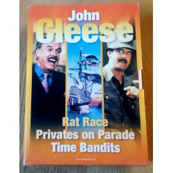 3 x John Cleese - Rat Race - Privates on Parade - Time Bandits - DVD