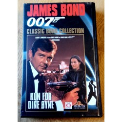 James Bond 007 - Kun for dine øyne - VHS