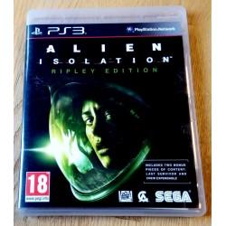 Playstation 3: Alien Isolation - Ripley Edition (SEGA)