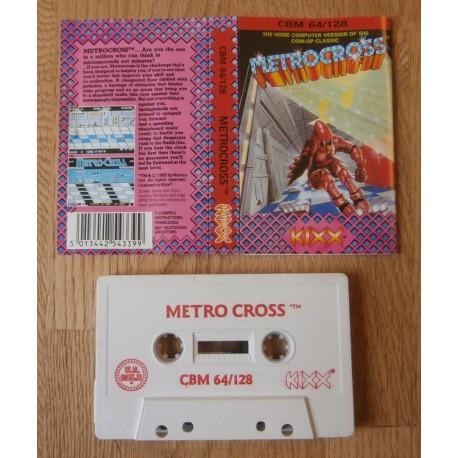 Metrocross (Kixx) - Commodore 64 / 128