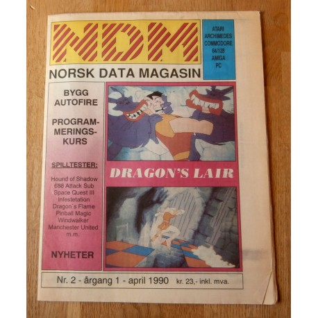 NDM - Norsk Data Magasin: 1990 - Nr. 2
