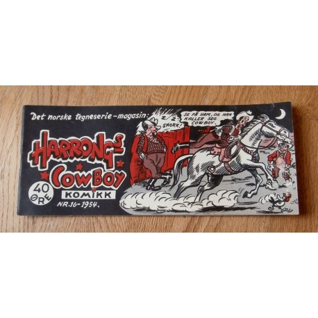 Harrongs Cowboy Komikk - 1954 - Nr. 16