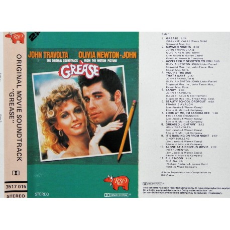 Grease- Original filmmusikk