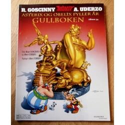 Asterix: Nr. 34 - Asterix og Obelix fyller år - Gullboken