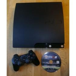 Playstation 3 Slim med 120 GB HD - Komplett konsoll med spill