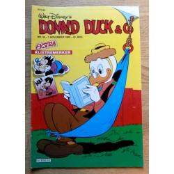 Donald Duck & Co: 1989 - Nr. 45 - Med vedlegg bak i bladet