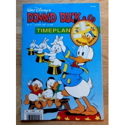 Donald Duck & Co: 1990 - Nr. 32 - Med timeplan