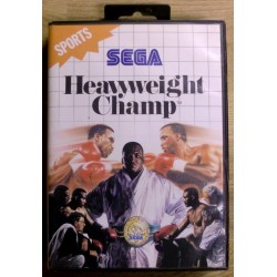 SEGA Master System: Heavyweight Champ