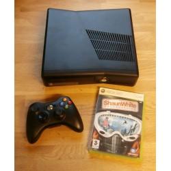 Xbox 360 S - 4 GB lagring - Komplett med Shaun White Snowboarding