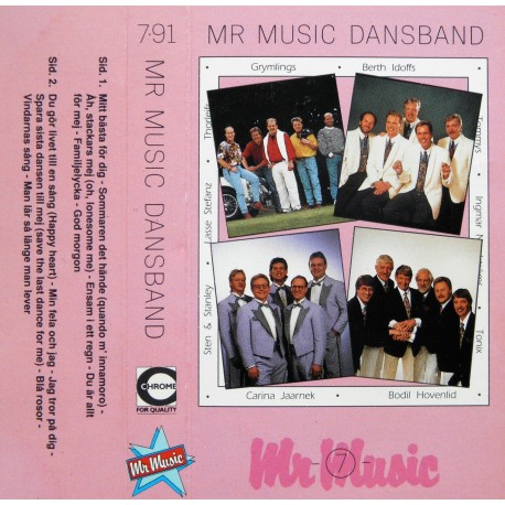 Mr Music- Dansband- 7/1991