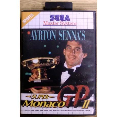 SEGA Master System: Ayrton Senna's Super Monaco GP II