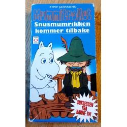 Mummitrollet - Snusmumrikken kommer tilbake - VHS