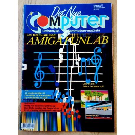 Det Nye Computer - Uafhængigt Commodore-magasin - 1990 - Nr. 12