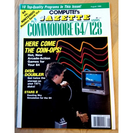 Compute!'s Gazette for Commodore Personal Computer Users - 1989 - August